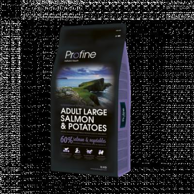 Сухий корм - Dog Adult Large Breed Salmon & Potatoes Сухий корм з лососем і картоплею для дорослих собак великих і гігантських порід