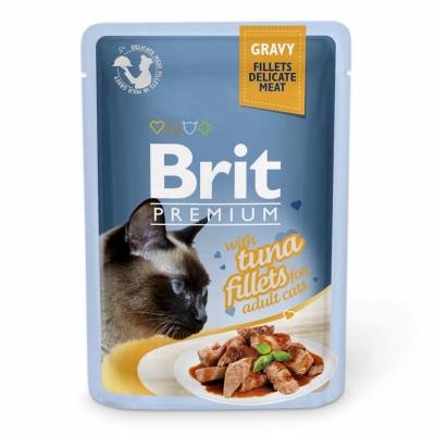 Для котів - Філе тунця в соусі для котів