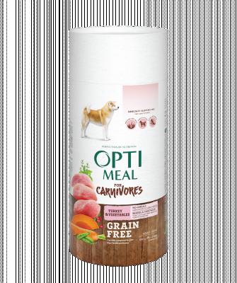 Сухой корм - Adult Dogs Grain Free Turkey & Vegetables Беззерновой сухой корм для взрослых собак всех пород - индейка и овощи