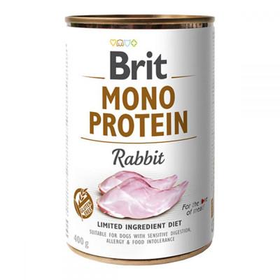 Консервований корм - Mono Protein Dog з кроликом