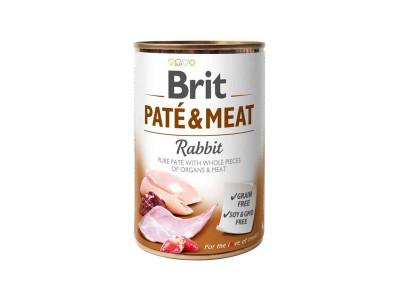 Консервований корм - Pate & Meat Dog з кроликом