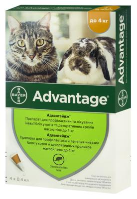 Для котів - Advantage 40 для котів до 4 кг
