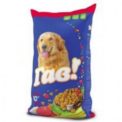 Сухой корм - «Для взрослых собак с телятиной и рисом»