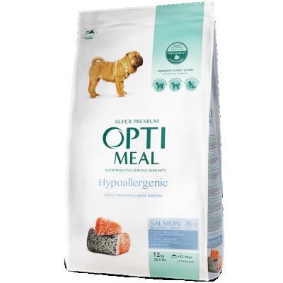 Сухий корм - Adult Dogs Hypoallergenic Medium and Large Breeds Salmon Гіпоалергенний сухий корм для дорослих собак середніх та великих порід - лосось