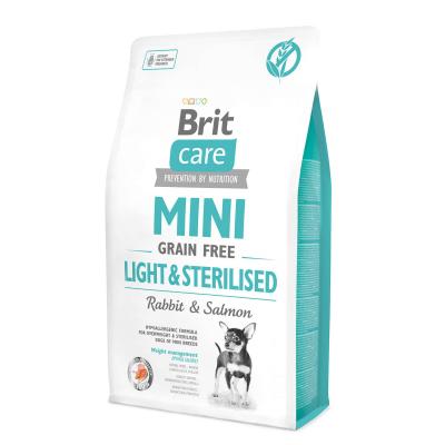 Сухой корм - Mini Grain Free Light & Sterilised