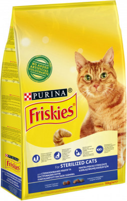 Сухий корм - Sterile Сухий корм для стерилізованих котів - лосось та овочі