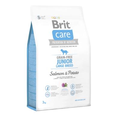 Сухой корм - Grain Free Junior Large Breed Salmon & Potato