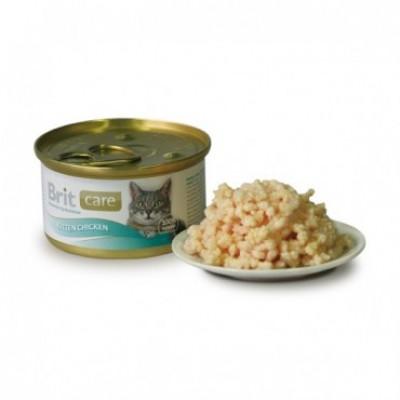 Консервированный корм - Kitten Chicken влажный корм для котят