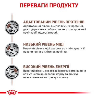Сухий корм - Hepatic