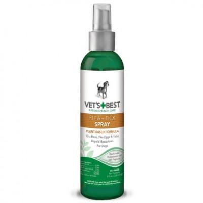 Для собак - Flea & Tick Spray Спрей від бліх, кліщів і москітів для собак