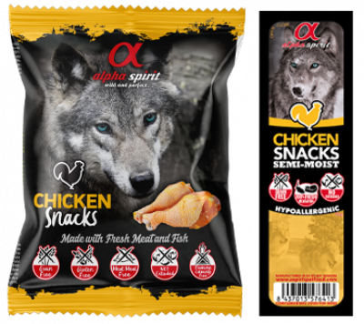 Ласощі - Snacks Chicken напіввологі ласощі з курятини, кубики