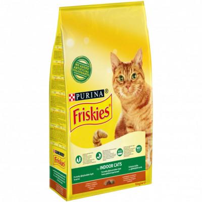 Сухой корм - Indoor Сухой корм для кошек, живущих в помещении - курица и садовая трава