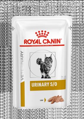 Консервований корм - Urinary S/O Feline Pouches loaf